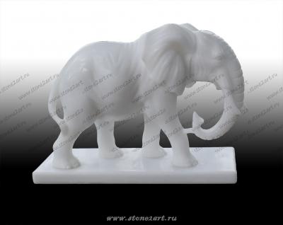 "Скульптура из мрамора ""Слон"""