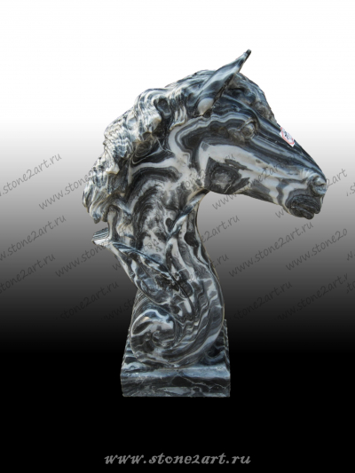 """Скульптура из мрамора """"Мордар"""""""