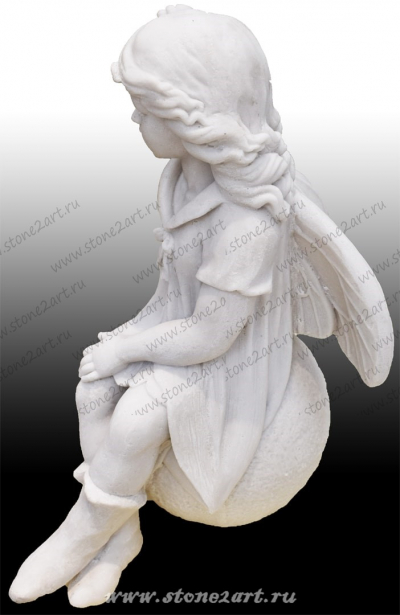 """Скульптура """"Ангелочек на шаре"""""""