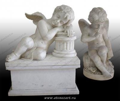"""Комплект скульптур """"Два купидона"""""""