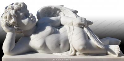 "Скульптура ""Купидон отдыхает"""