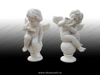 """Комплект скульптур """"Ангелочки"""""""