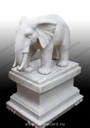 "Скульптура из мрамора ""Слон 2"""