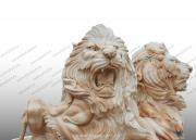 "Скульптура из мрамора ""Лев 11"""