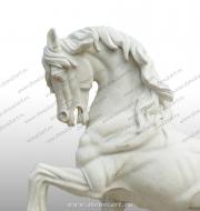 """Скульптура из мрамора """"Лошадь"""""""