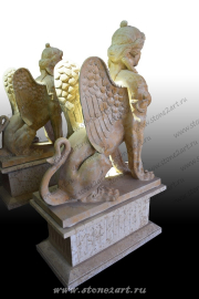 "Скульптура из мрамора ""Сфинкс 2"""