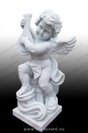 """Комплект скульптур """"Ангелочки играющие"""""""