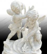 """Скульптура """"Ангелочки c кувшинами"""""""