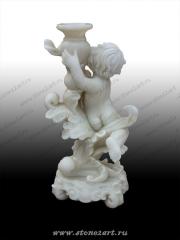 """Комплект скульптур """"Ангелочки с вазами"""""""