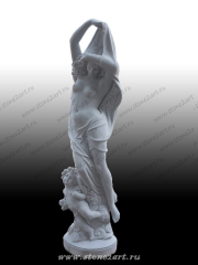 "Скульптура ""Обнаженная девушка"""