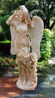 """Скульптура """"Ангел с кувшином"""""""