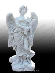 """Скульптура  """"Ангел с лентами"""""""