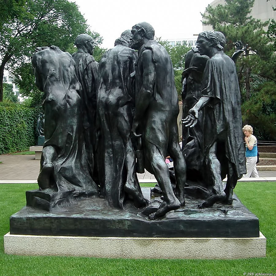 The_Burghers_of_Calais_Rodin